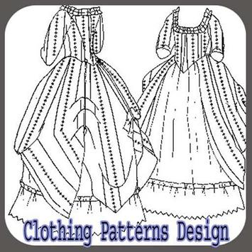 Clothing Patterns Design poster