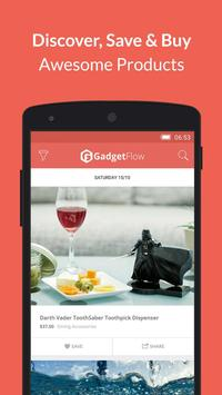 Gadget Flow Shopping App for Cool Gadgets & Gizmos poster