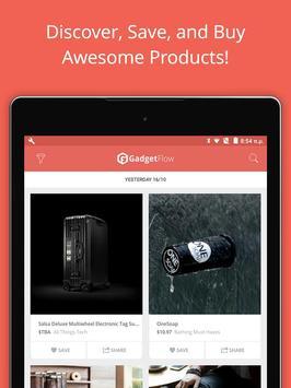 Gadget Flow Shopping App for Cool Gadgets & Gizmos apk screenshot
