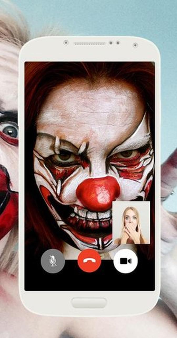 Video Call From Killer Clown Scary Call Live cho Android