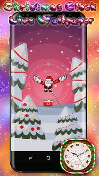 Christmas Clock Live Wallpaper poster
