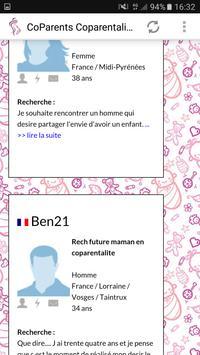 Rencontres Coparentalité apk screenshot