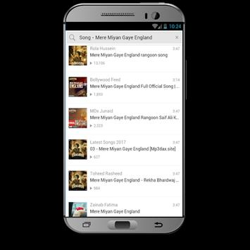 Rangoon Movie Songs apk screenshot
