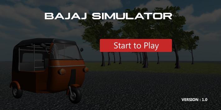 Bajaj Simulator poster