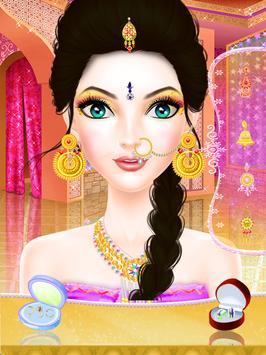 Indian Trendy Fashion Doll - Stylish Makeup Spa screenshot 1
