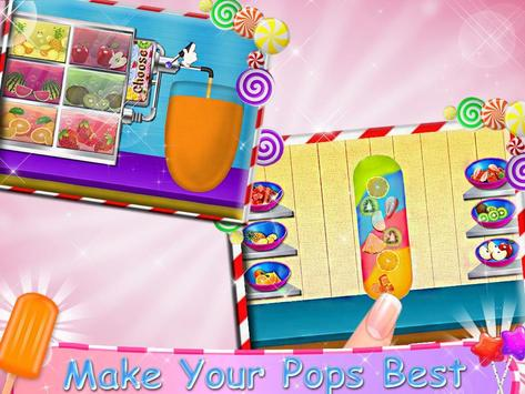 Juicy Ice Candy Maker - Tasty Popsicles screenshot 1