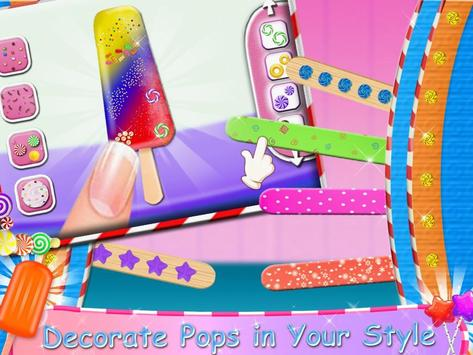 Juicy Ice Candy Maker - Tasty Popsicles screenshot 5