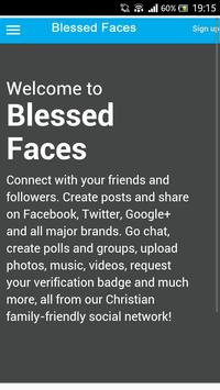 Blessed Faces poster