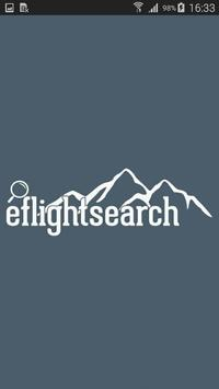 Eflightsearch poster