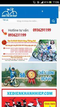 Sieu Thi Xe Dap poster