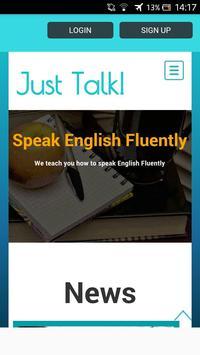 Just Talk English poster