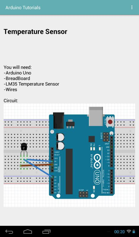 Arduino tutorials apk baixar grátis educação aplicativo