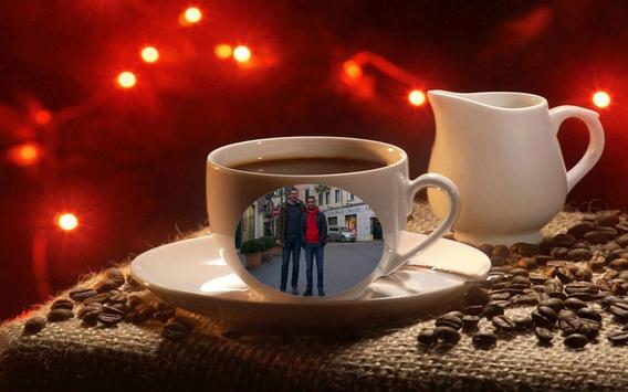 Coffee Mug Photo Maker poster