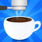 coffee machine maker game icon