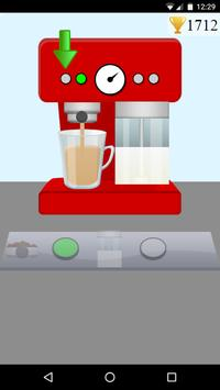 coffee machine maker game poster