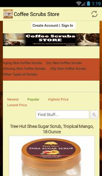 Coffee Scrubs Store poster