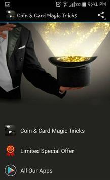 Coin & Card Magic Tricks poster