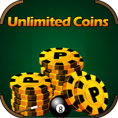 8 Ball Pool Coins Simulated icon