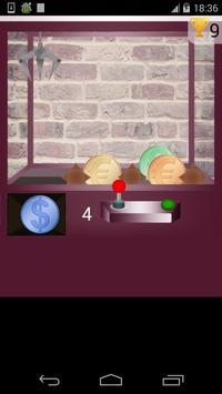 coins claw machine game screenshot 2