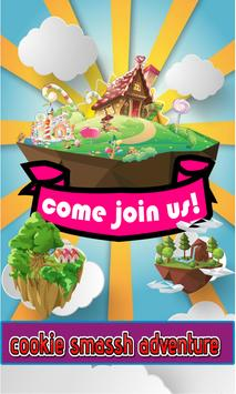 Cookie Smash Adventure poster