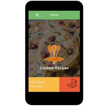 Cookies Recipes apk screenshot
