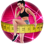Girl's Body Shape Measurements Prank icon