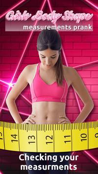 Girl's Body Shape Measurements Prank screenshot 1