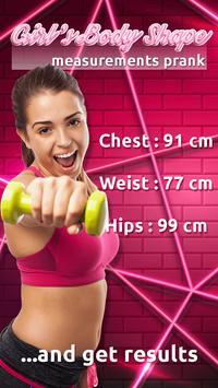 Girl's Body Shape Measurements Prank screenshot 2