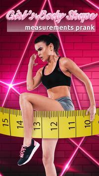 Girl's Body Shape Measurements Prank screenshot 4