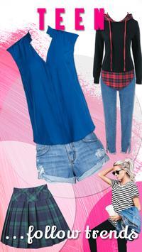 Teenage Fashion Outfits - New Apps screenshot 1