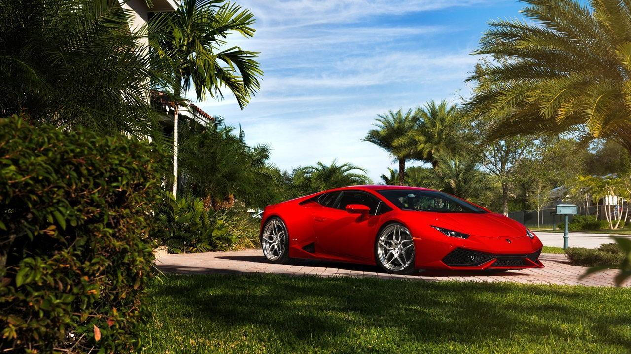 Cool Red Sports Cars Wallpaper For Android