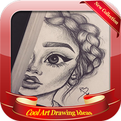 Cool Art Drawing Ideas icon