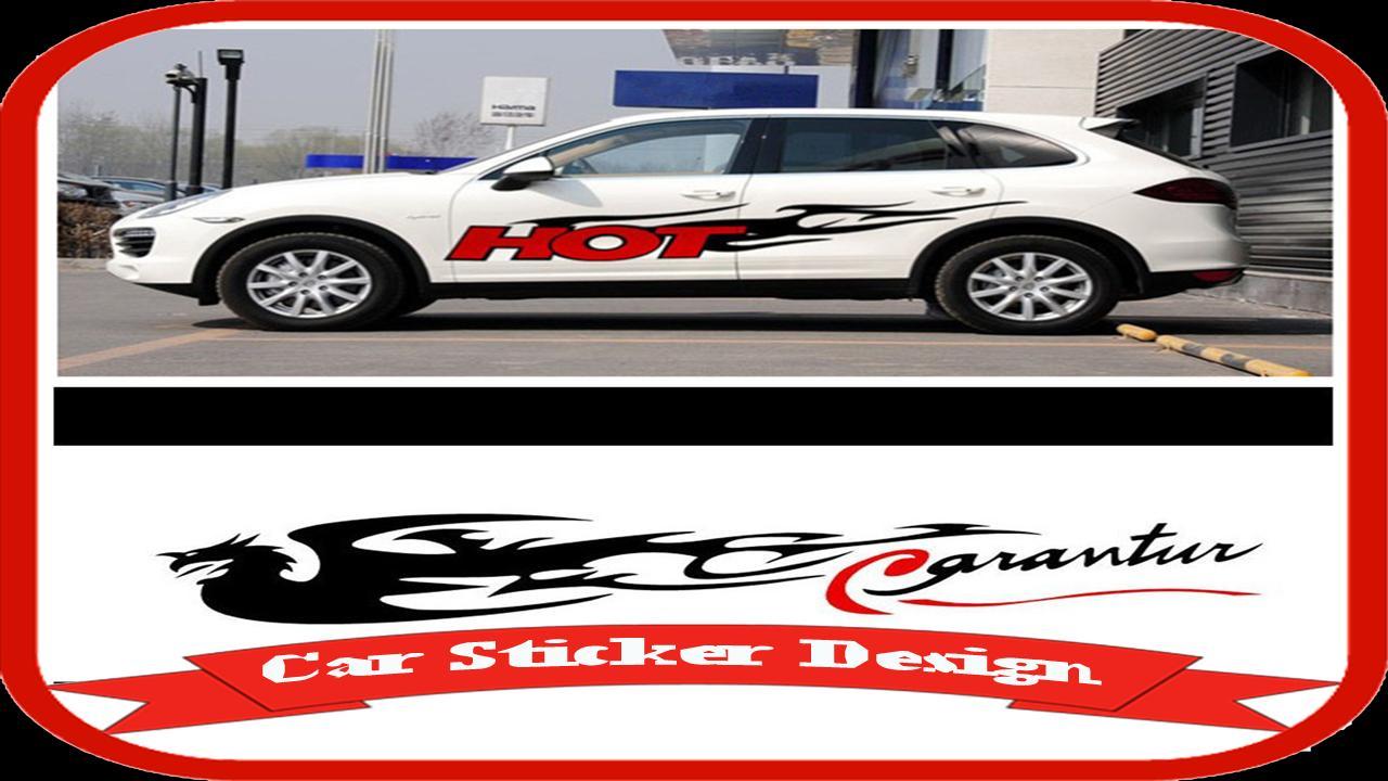 Cool car sticker design idea screenshot 4