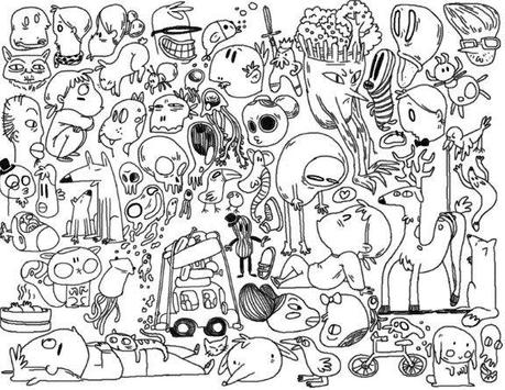 Cool Doodle Art Drawing Apk Screenshot