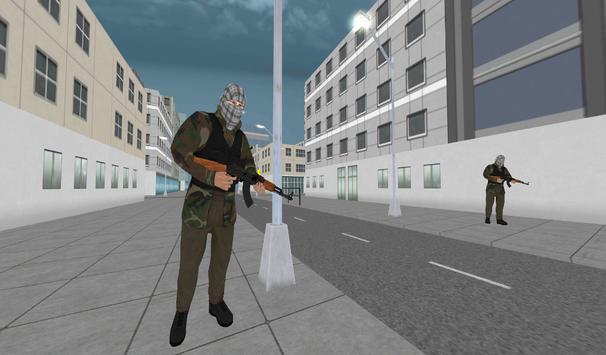 Counter City attack Commando Action 2017 poster