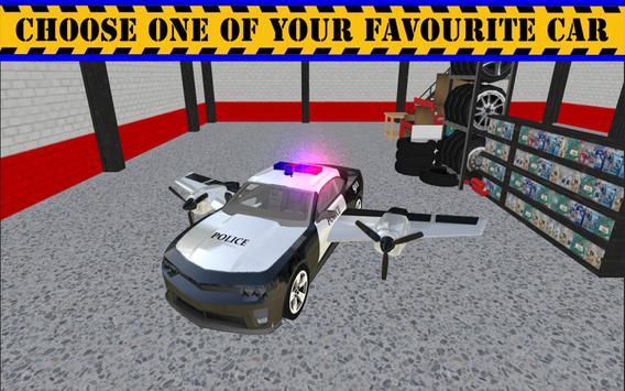 Police Flying Cop Car Driving 3D apk screenshot