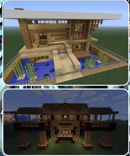 Minecraft Simple Modern House Designs: 最新 Minecraft House Designs