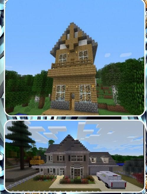Cool Minecraft House Designs For Android Apk Download