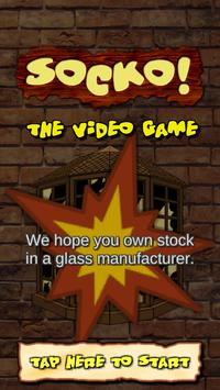 SOCKO! The Video Game: A window smasher game! poster
