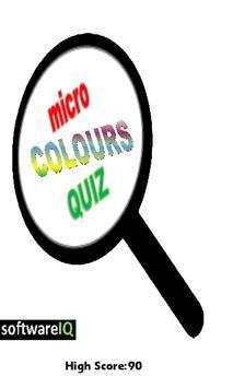 Colors Quiz-poster