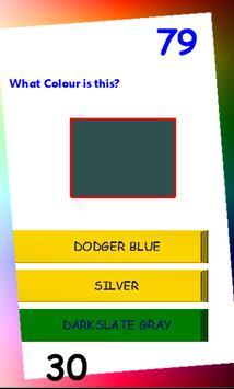 Colors Quiz screenshot 2