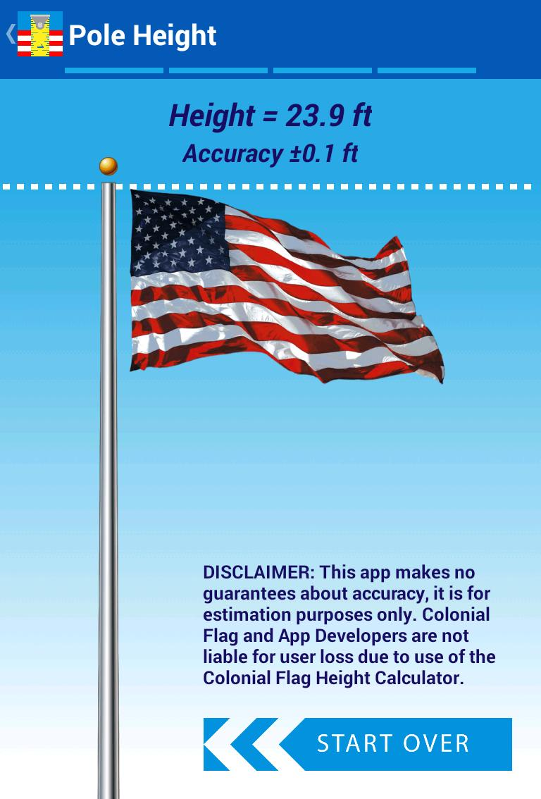 Flagpole Height Calculator for Android - APK Download
