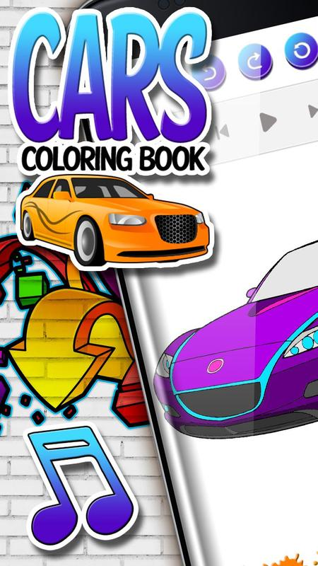 Libro para Colorear de Coches app Descarga APK - Gratis ...