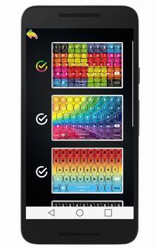 Colorful Keyboard screenshot 2