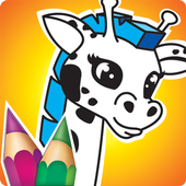 Animated Animals Coloring Book icon
