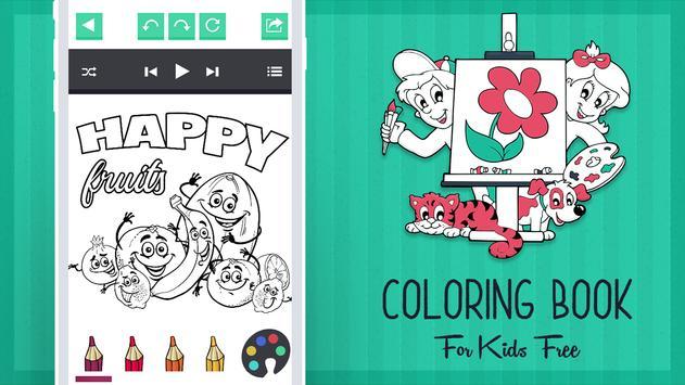 Coloring Book for Kids Free apk screenshot