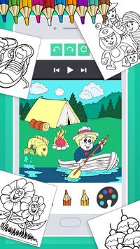 Coloring Book for Kids Free poster