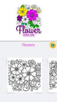 Flower Coloring Book with Relaxing Music ♪ poster