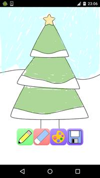 Christmas coloring pages game free screenshot 2