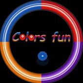 Colors fun icon